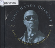 John Handy Quintet CD