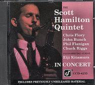 The Scott Hamilton Quintet CD