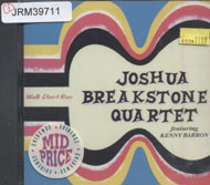 Joshua Breakstone Quartet featuring Kenny Barron CD