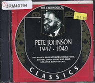 Pete Johnson CD
