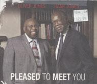 Oliver Jones & Hank Jones CD