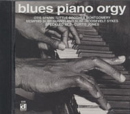 Blues Piano Orgy CD