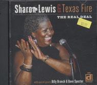Sharon Lewis & Texas Fire CD