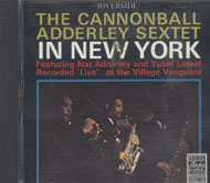 The Cannonball Adderley Sextet Featuring Nat Adderley and Yusef Lateef CD