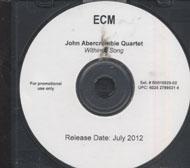 John Abercrombie Quartet CD