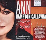 Ann Hampton Callaway CD