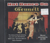 Hot Dance on Gennett CD
