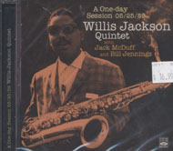 Willis Jackson Quintet CD