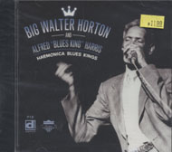 "Big Walter Horton and Alfred ""Blues King"" Harris CD"