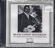 Lemon Jefferson CD