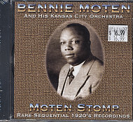 Bennie Moten's Kansas City Orchestra CD