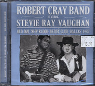 Robert Cray Band/ Stevie Ray Vaughan CD