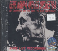 Gene Krupa & His Orchestra and The Jazz Trio With Anita O'Day CD