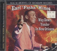 "Earl ""Fatha"" Hines CD"