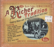 A Richer Tradition: Country Blues and String Band Music (1923-1942) CD