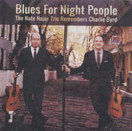 The Nate Najar Trio CD