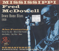 """Mississippi"" Fred McDowell CD"