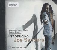 Joe Sanders CD