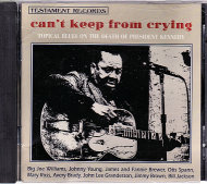 Can't Keep From Crying CD