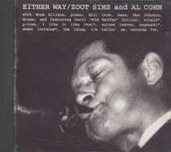 Zoot Sims & Al Cohn CD