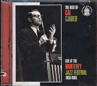 The Best Of Cal Tjader: Live At The Monterey Jazz Festival (1958-1980) CD