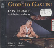 Giorgio Gaslini CD