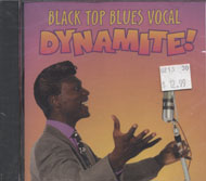 Black Top Blues Vocal Dynamite! CD