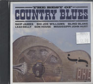 The Best of Country Blues CD