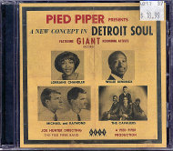 Pied Piper Presents A New Concept In Detroit Soul CD