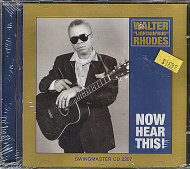 "Walter ""Lightnin' Bug"" Rhodes CD"