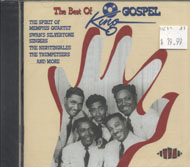 The Best of King Gospel CD
