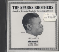 The Sparks Brothers CD