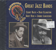 Great Jazz Bands CD