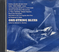 One-String Blues CD