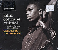 John Coltrane Quintet With Red Garland & Donald Byrd Complete Recordings CD
