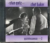 The Stan Getz Quartet With Chet Baker CD