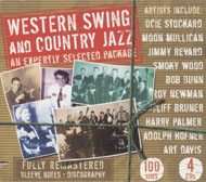 Western Swing And Country Jazz CD