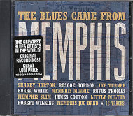 The Blues Came From Memphis CD