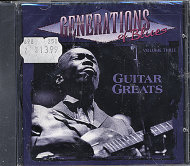 Generations Of Blues (Volume Three) CD