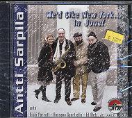 Antti Sarpila Quartet CD