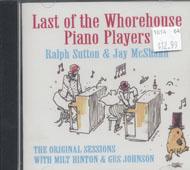 Ralph Sutton & Jay McShann CD