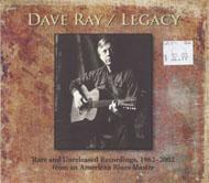 Dave Ray CD