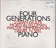 Four Generations: Wolpe, Feldman, Zimmerman, Seel CD