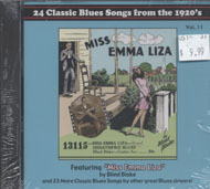 24 Classic Blues Songs From the 1920s Vol. 11 CD