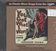 24 Classic Blues Songs From the 1920s Vol. 12 CD