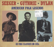 Pete Seeger / Woody Guthrie / Bob Dylan CD