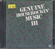 Genuine Houserockin' Music III CD