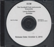 The Gurdjieff Folk Instruments Ensemble & Levon Eskenian CD