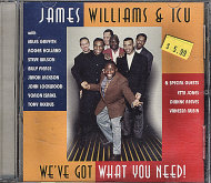 James Williams & ICU CD