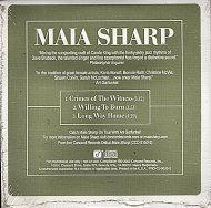 Maia Sharp CD